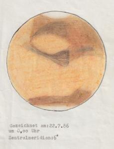 Mars drawing, © Michael Risch
