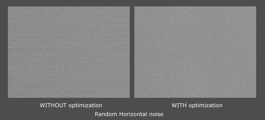 Random Horizontal noise