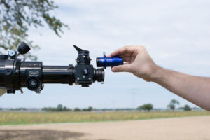 A stop ring helps you to place a camera or eyepiece always in the same distance.