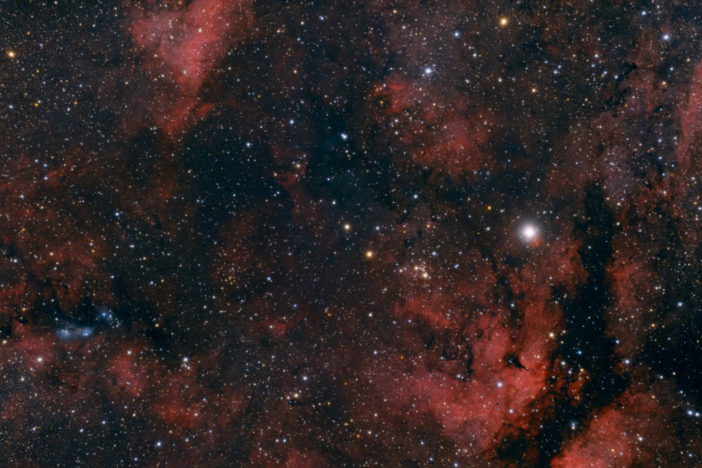IC1318 with Baader Apo 95