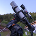 Celestron CGX mount in combination with StarAid Revolution as guiding cam