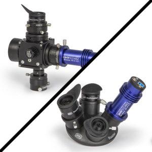 The telescope equipment for the Mars Opposition
