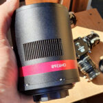 QHYCCD 268M Monochrome CMOS Astronomical Imaging Camera: Overview and a first light from Bortle 7 skies