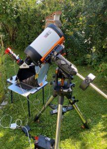 Baader Triband mit SunDancer II H-alpha Filter