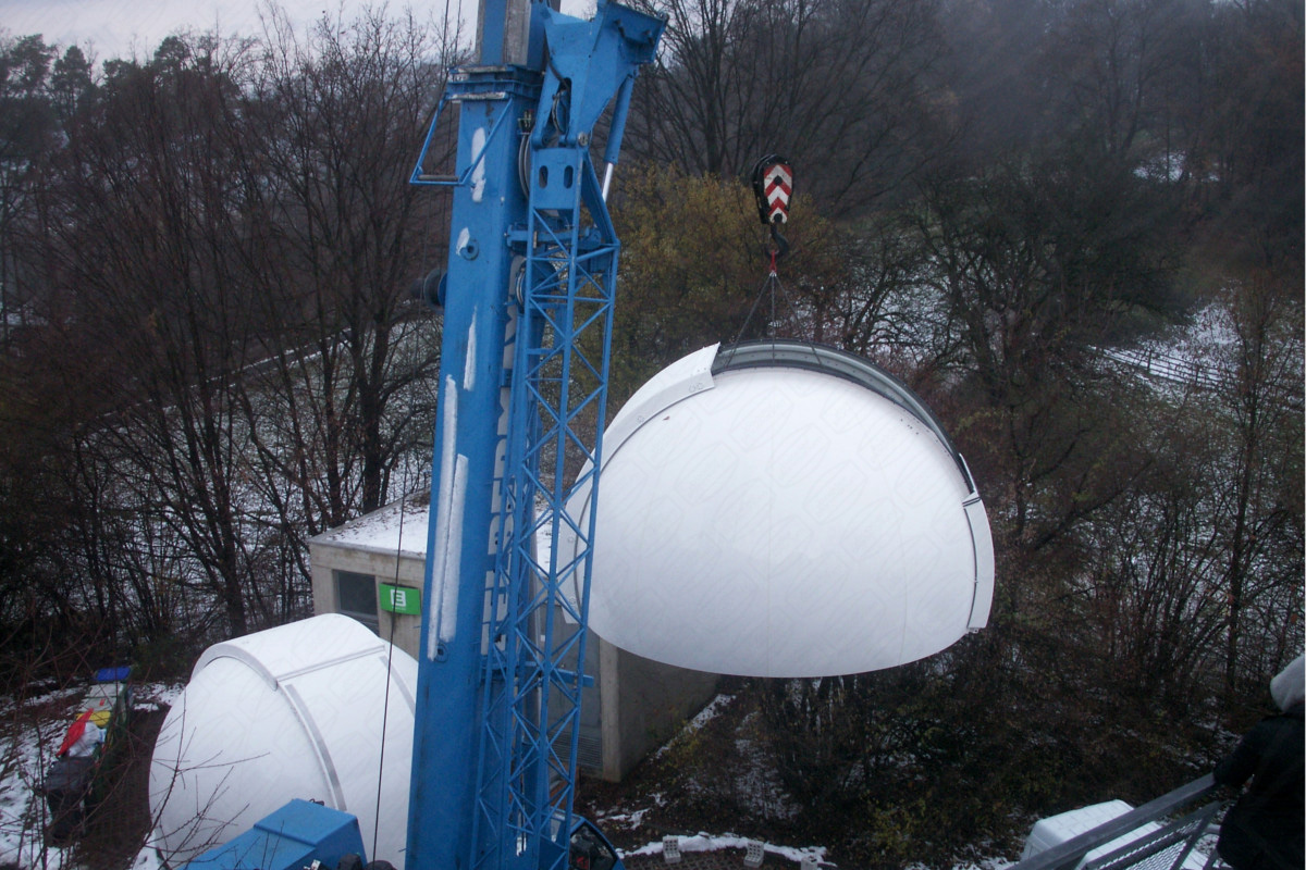 2 Domes in Österreich Akademie / Institut für Weltraumforschung