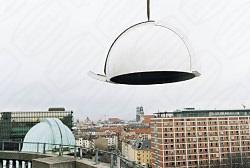 Deutsches Museum in München Kuppel vor der Endmontage