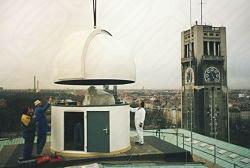 Observatorium auf dem deutschen Münchner Museum