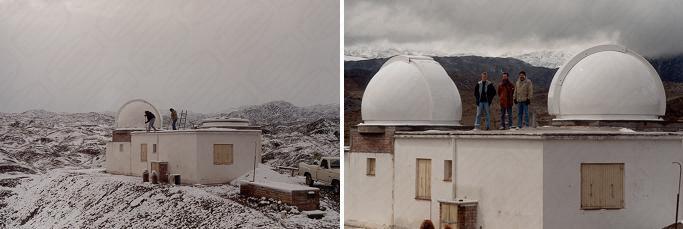 Baader Kuppel genutzt von der argentinischen Universität von San Juan