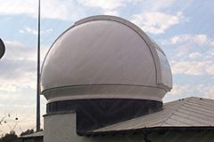 Spaltkuppel für tägliche Messungen in Frankfurt