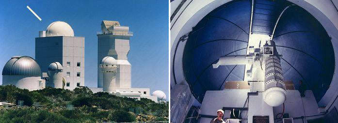 Teneriffa Observatorium mit 8 m Baader Planetarium Dome