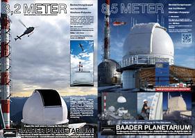3,2 Meter und 8,5 Meter Dome von Baader Wendelstein
