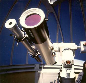 Sonnenteleskop mit Solartracker von Baader Planetarium