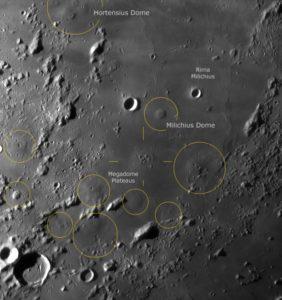 Mondbilder an Tagen
