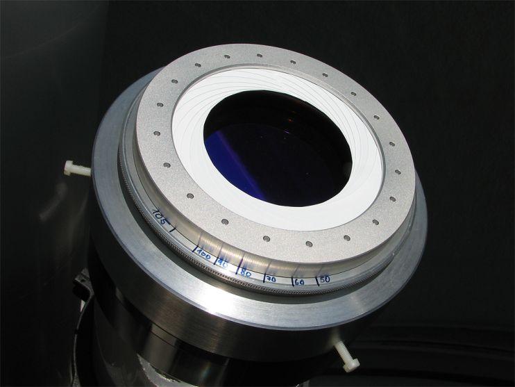 D-ERF Filter von Baader Planetarium und Irisblende