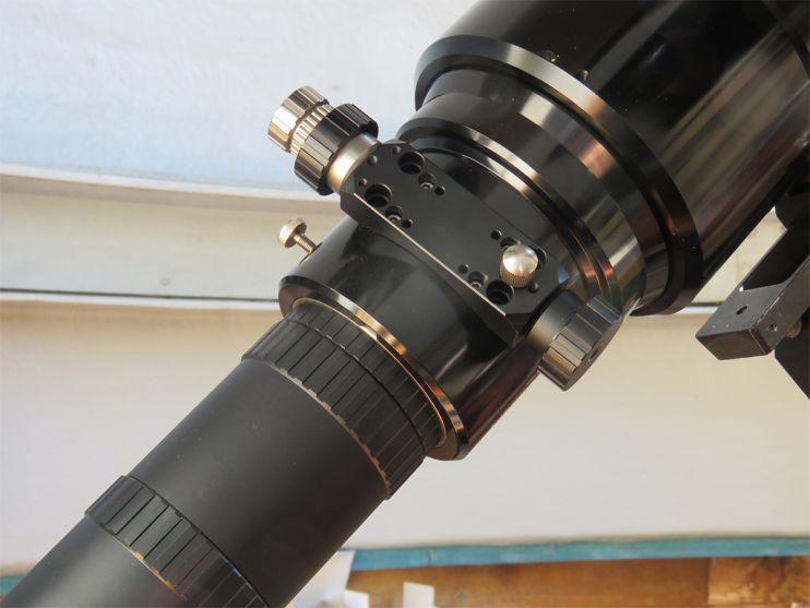 Baader Okularauszug Bildaufnahmen Sonnenoberfläche