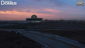 Sharjah Astro Center bei Dubai im Bauprozess