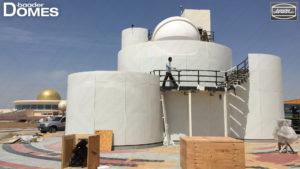 Sternwarte im Bau Sharjah Astro Center bei Dubai