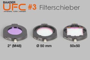 Baader Universal-Filterschubladensystem (UFC): Die UFC Filterschieber (Teil 3)