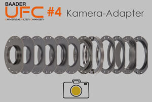 Baader Universal-Filterschubladensystem (UFC): Die kameraseitigen UFC-Adapter (Teil 4)