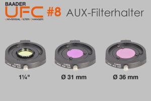Kleinere Filter mit dem Baader Universal Filter Changer (UFC) verwenden (Teil 8)
