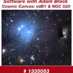 Cosmic Canvas: vdB 1 und NGC 520