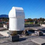 2.1m klassische Sternwarte für Staffelsee-Gymnasium in Murnau