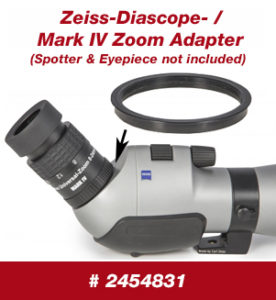Zeiss-Diascop-/Mark IV Zoom Adapter