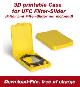 3D druckbare Box für UFC Filterschieber