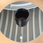 Reinigung eines CDK-17-Spiegels mit Optical Wonder