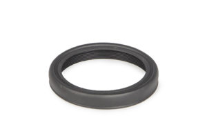 Foldable Rubber Eyecup w. M43 metal thread, folded #2454655