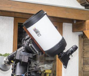 """Baader C8"""" Triband SCT mit Herschelprisma und 36mm 2"""" -Okular"""