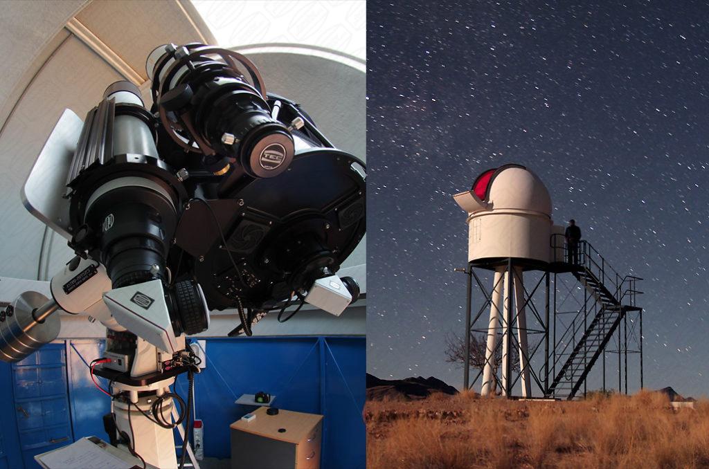 Rooisand Observatory