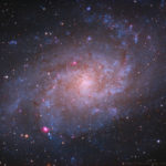 APOD: M33 - Triangulum Galaxie aufgenommen mit Planewave CDK14