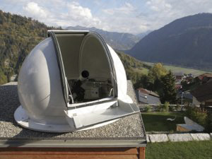 2,6 Meter Classic Dome (Spaltkuppel)  - Privatsternwarte Ziolek