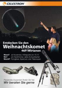 Kometen Beobachtungs-Sets: Hier gehts zu den teilnehmenden Fachhändlern
