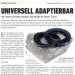 Universell Adaptierbar: Universal Filter Changer im Praxis-Check