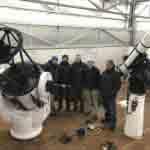 Teleskopmontagen im November und Dezember