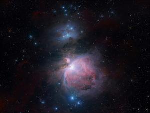 """M42 Orionnebel aufgenommen mit RASA 8"""" von Celestron, Michael Jäger"""