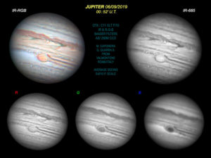 Jupiter mit Baader Filter