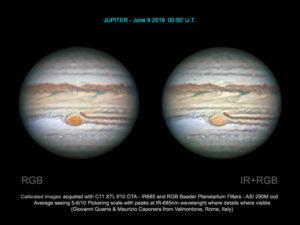 Jupiter mit C11 XTL und Baader Filter