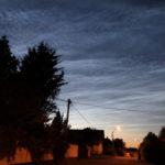"""Beobachtungstipp """"Leuchtende Nachtwolken"""""""
