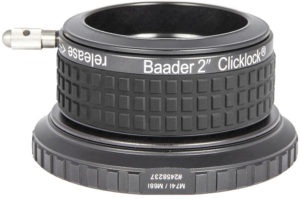 "Baader 2"" ClickLock clamp M74i x 1 (for Skywatcher Esprit,TS-Optics, Omegon)"