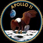 Missionslogo von Apollo 11, @NASA