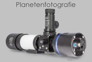 Planeten-Fotografie mit dem FlipMirror II Zenitspiegel