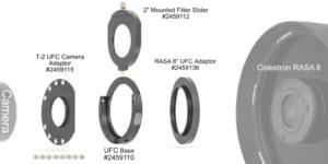 """Teleskopseitiger UFC-Adapter: Baader UFC RASA 8"""" (Teil 9)"""