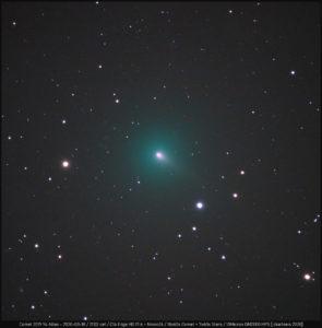UPDATE + AKTIONEN: Komet ATLAS (C/2019 Y4) überrascht