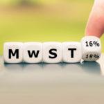 Hinweise zur Mehrwertsteuersenkung auf 16%