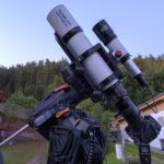 Celestron CGX-Montierung in Kombination mit StarAid Revolution als Guider