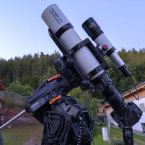 Baader Apo 95/580 CaF2 Travel Companion auf CGX Montierung mit StarAid Revolution