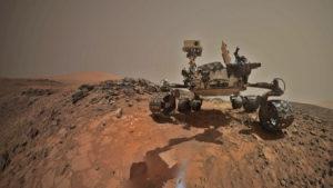 """""""Selfie"""" vom Marsrover Curiosity. Quelle: JPL, NASA"""